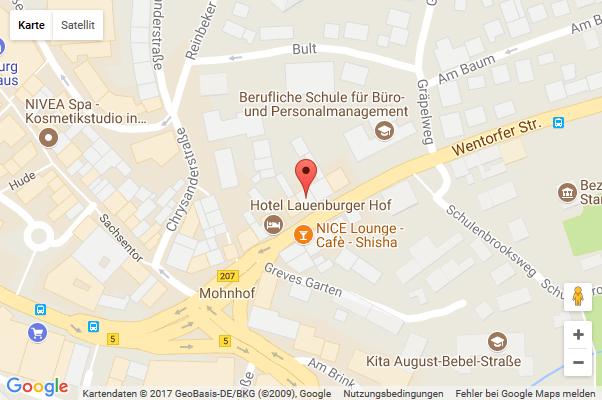 Landkarte Standort: Paul Hast GmbH in Hamburg Bergedorf - Wentorfer Straße 7
